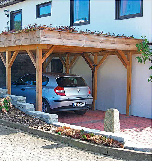 Carports bikeports mordhorst kg hamburg for Joda carport