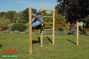 Klettergerüst Zubehör : Kinder klettergerüst holz premium mit kletterwand kletternetz von
